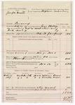 1887 November 12: Voucher, U.S. v. Joseph Cratt, larceny; includes cost of mileage and feeding prisoner; John Phillips, deputy marshal; Stephen Wheeler, commissioner; William Rayers, Lucritia Rayers, witnesses