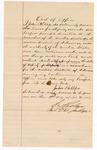 1887 November 1: Oath of Office, of John Phillips, deputy marshal; I.C. Parker, judge