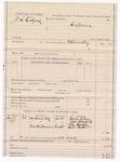 1887 November 25: Voucher, U.S. v. Z.L. Rodgers; includes cost of subpoena for witnesses; B. Connelley, deputy marshal; George Giboney, John Hawkins, One Snodle, Dick Prather, witnesses