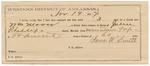 1887 November 19: Voucher, U.S. v. William Moore, larceny; includes cost of mileage and feeding prisoner; John Phillips, deputy marshal; Stephen Wheeler, commissioner; J.W. Smith, guard; Geroge Gordon, James Smith, witnesses