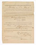 1886 May 4: Voucher, to William Samms, witness; includes cost of service as witness; John Carroll, U.S. marshal; Stephen Wheeler, clerk; S.A. Williams, deputy clerk; A.S. Vandeventer, chief deputy