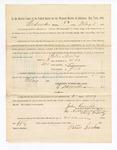 1886 May 5: Voucher, to Peter Seales, witness; includes cost of service as witness; John Carroll, U.S. marshal; Stephen Wheeler, clerk; S.A. Williams, deputy clerk; A.S. Vandeventer, chief deputy