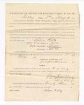 1886 May 7: Voucher, to Sabra Kelly, witness; includes cost of service as witness; Stephen Wheeler, clerk; S.A. Williams, deputy clerk; A.S. Vandeventer, chief deputy; John Carroll, U.S. marshal