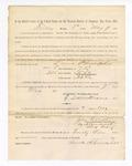 1886 May 7: Voucher, to Laura Schrimper, witness; includes cost of service as witness; S.A. Williams, deputy clerk; Stephen Wheeler, clerk; A.S. Vandeventer, chief deputy; John Carroll, U.S. marshal