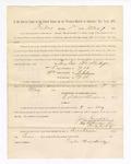 1886 May 7: Voucher, to Taylor Hardridge, witness; includes cost of service as witness; S.A. Williams, deputy clerk; Stephen Wheeler, clerk; A.S. Vandeventer, chief deputy; John Carroll, U.S. marshal