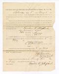1886 May 8: Voucher, to Fountain T. Shepherd, witness; includes cost of service as witness; S.A. Williams, deputy clerk; Stephen Wheeler, clerk; A.S. Vandeventer, chief deputy; John Carroll, U.S. marshal