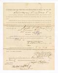 1886 May 8: Voucher, to Joseph P. Wilsey. witness; includes cost of service as witness; S.A. Williams, deputy clerk; Stephen Wheeler, clerk; A.S. Vandeventer, chief deputy; John Carroll, U.S. marshal; Thomas Lockhart, witness of signatures