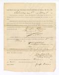 1886 May 8: Voucher, to Joseph Burns, witness; includes cost of service as witness; S.A. Williams, deputy clerk; Stephen Wheeler, clerk; A.S. Vandeventer, chief deputy; John Carroll, U.S. marshal
