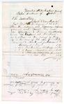 1886 May 8: Voucher, U.S. v. J.R. Smith, robbing U.S. mail; Jeffery Case, witness; John Carroll, U.S. marshal; handwritten voucher includes cost of expenses incurred as witness; Stephen Wheeler, clerk; S.A. Williams, deputy clerk; A.S. Vandervent, chief deputy