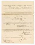 1886 May 10: Voucher, to John Hayes, witness; includes cost of service as witness; S.A. Williams, deputy clerk Stephen Wheeler, clerk; A.S. Vandeventer, chief deputy; John Carroll, U.S. marshal