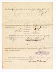 1886 May 17: Voucher, to James M. Davis, witness; includes cost of service as witness; Stephen Wheeler, clerk; A.S. Vandeventer, chief deputy; John Carroll, U.S. marshal