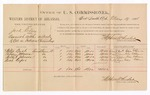 1886 May 19: Voucher, U.S. v. Jack Riley, assault with intent to kill; includes cost of per diem and mileage; Willie Boot, Patsy Johnson, Walker Johnson, Rich Roper, witnesses; John Carroll, U.S. marshal; Stephen Wheeler, commissioner; W.H. Cravens, witness of signatures