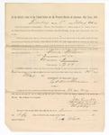 1886 May 25: Voucher, to Rora Wilson, witness; includes cost of service as witness; S.A. Williams, deputy clerk; Stephen Wheeler, clerk; A.S. Vandeventer, chief deputy; John Carroll, U.S. marshal