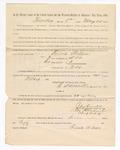 1886 May 25: Voucher, to Finnie Wilson, witness; includes cost of service as witness; S.A. Williams, deputy clerk; Stephen Wheeler, clerk; A.S. Vandeventer, chief deputy; John Carroll, U.S. marshal