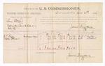 1886 June 2: Voucher, U.S. v. Tom Stuart, assault with intent to kill; includes cost of per diem and mileage; W.T. Bailey, Mattie Stewart, witnesses; James Brizzolara, commissioner; John Carroll, U.S. marshal