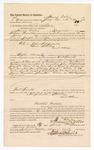 1886 July 20: Voucher, to Henry Willis, of Longview, Caddo Nation, for assisting Joseph W. Everidge, deputy marshal, in U.S. v. John Killpatrick, U.S. v. Sam Stanley, and others; James Christian, arrested; Stephen Wheeler, commissioner; John Carroll, U.S. marshal; J.H. Edmonton, witness to signatures
