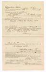 1886 October 7: Voucher, to John Phillips, of Fort Smith, Arkansas, for assisting B.T. Hughes, deputy marshal, in U.S. v. William Hill; Stephen Wheeler, commissioner; S.A. Williams, deputy clerk; John Carroll, U.S. marshal