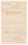 1886 November 2: Voucher, to John W. Sanders; includes cost of services rendered as stenographer; Stephen Wheeler, clerk; S.A. Williams, deputy clerk; John Carroll, U.S. marshal
