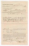 1886 November 8: Voucher, to J.D. Parks, of Fort Smith, Arkansas, for assisting J.R. Cole, deputy marshal, in U.S. v. John Harris; Stephen Wheeler, commissioner; S.A. Williams, deputy clerk; John Carroll, U.S. marshal