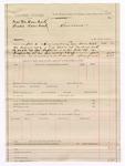 1886 November 4: Voucher, U.S. v. Martin Bearhead and Susie Bearhead; Charles Barnhill, deputy marshal