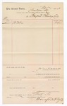 1887 December 1: Voucher, to Bonford Plumbing Co.; John Carroll, U.S. marshal