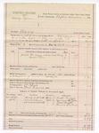 1888 April 7: Voucher, U.S. v. Henry Tyler, bigamy;  includes cost of ferriage and mileage; G.G. Tyson, deputy marshal; Stephen Wheeler, commissioner; Tom Lemons, posse comitatus; Robert Vann, Margarette Tyler, Tom Smith, Mannie Jackson, witnesses