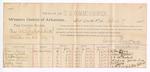 1888 April 1: Voucher, U.S. v. Charles Mitchell & A. Smith, murder; includes cost of per diem and mileage; William Henry, Samuel Mitchell, Z.T. McFarland, Hosea Fowler, Mattie Seals, C.W. Pringle, D.C. McFarland, J.L. Garland, S.N. Keersey, witnesses; James Brizzolara, commissioner; John Carroll, U.S. marshal