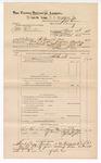 1888 December 31: Voucher, U.S. v. William Christian, larceny; includes cost of subpoena for witnesses and mileage; J.M. Ennis, deputy marshal; John Carroll, U.S. marshal; Jerry Gardner, Tim Graham, John Hughes, witnesses