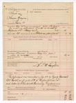 1888 July 4: Voucher, U.S. v. Sarpe (alias Sharper Grayson), introducing spiritous liquors; includes cost of mileage and feeding prisoner; John Phillips, deputy marshal; L.P. McLaughlin, guard; A.S. Cabell, deputy marshal