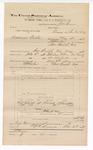 1888 December 31: Voucher, U.S. v. Anderson Brutes, larceny; J.M. Ennis, deputy marshal; John Carroll, U.S. marshal; J.J. Campbell et al., witnesses; Stephen Wheeler, commissioner