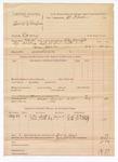 1888 June 25: Voucher, U.S. v. Ben F. Thompson, larceny; includes cost of warrant, discharging prisoner, and subpoena for witnesses; Charles Barnhill, deputy marshal; Stephen Wheeler, commissioner; R.S. McCarty, R.L. McCarty, witnesses