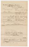 1888 December 31: Voucher, U.S. v. Robinson Chiger, larceny; includes cost of mileage and subpoena for witnesses; J.M. Ennis, deputy marshal; John Carroll, U.S. marshal; Walrus Payne et al., witnesses; Stephen Wheeler, commissioner
