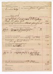 1888 August 1: Voucher, U.S. v. Cornelius Lockley, assault with intent to kill; includes cost of ferriage, lodging, and horse feed; J.K. Barling, deputy marshal; James Brizzolara, commissioner; James Monks, Alex Snody, John Mildun, witnesses; Cal Watson, posse comitatus