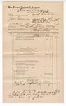 1888 December 31: Voucher, U.S. v. Jack Crittendon, assault with intent to kill; includes cost of mileage; J.M. Ennis, deputy marshal; John Carroll, U.S. marshal; Sam Leflore, witness; James Brizzolara, commissioner