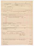1888 September 5: Voucher, U.S. v. George Hasbold, assault; includes cost of subpoena for witnesses and mileage; John McAllister, deputy marshal; Tip Graham, Thomas Bull, John Bull, witnesses