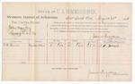 1888 August 21: Voucher, U.S. v. John Murphy, larceny; includes cost of per diem and mileage; S.H. Barnes, witness; John Carroll, U.S. Marshal; James Brizzolara, commissioner
