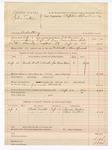 1888 September 12: Voucher, U.S. v. John Sexton, adultery; includes cost of hired horse and mileage; J.K. Barling, deputy marshal; Stephen Wheeler, commissioner; James Baker, George Sexton, witnesses