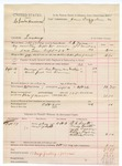 1888 October 15: Voucher, U.S. v. Charles Harrison, larceny; includes cost of ferriage and feeding prisoner; G.G. Tyson, deputy marshal; James Brizzolara, commissioner; D.C. Scott, Andy Smith, Andy Conner, Eliza Jamison, William Lewis, witnesses