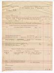 1888 December 7: Voucher, U.S. v. William Pite, larceny; includes cost of mileage and feeding prisoner; John McAllister, deputy marshal; James Brizzolara, commissioner; Dan Grayson, J.F. Ellison, witnesses; John Swain, posse comitatus;