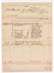 1888 October 9: Voucher, U.S. v. Jason Shelly et al., murder; includes cost of mileage; B. Connelley, deputy marshal; William Keith, James Yergan, Austin Persell, J.L. Ward, B.H. Lusk, Stephen Briggs, William Curtis, William Davis, Charles Wickliff, Thomas Burks, E.M. Jones, witnesses; M.H. Hegdon, Robert F. Willey, witnesses in U.S. v. L. Feel et al., murder
