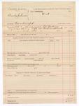 1888 October 3: Voucher, U.S. v. Charles Johnson, contempt; includes cost of mileage; J.K. Barling, deputy marshal