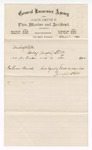 1880 December 1: Voucher, includes cost of lumber for prison bunks; V. Dell, U.S. marshal; John Smith P., of General Insurance Agency
