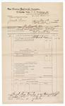 1889 June 30: Voucher, U.S. v. Jonah Pierce, introducing spirituous liquors ; includes cost of mileage; John Carroll, U.S. marshal; J.B. Lee, deputy marshal