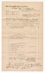 1889 June 30: Voucher, U.S. v. Andrew Christen; includes cost of mileage; J.W. Saleman, deputy marshal; John Carroll, U.S marshal; Stephen Wheeler, commissioner; Sam Childers, Scott Gentry, William Gentry, and Wallace McNach, witnesses