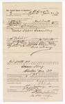 1889 January 29: Voucher, to J.B. Drake, of Fort Smith, Arkansas, for assisting B.G. Hughes, deputy marshal, in U.S. v. Isaac King; Stephen Wheeler, commission; J.M. Dodger, deputy clerk; John Carroll, U.S. marshal