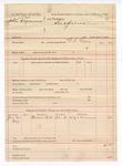 1889 February 3: Voucher, U.S. v. John Degars; W.H. Carr, deputy marshal; Lige Carmen, witness