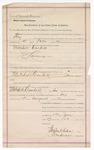 1889 August 5: Subpoena, U.S. v. Mitchell Corbett, larceny; Isaac C. Parker, judge; Stephen Wheeler, clerk; J.M. Doge, deputy clerk