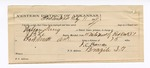 1889 February 9: Voucher, U.S. v. Wilson King, introducing spirituous liquors ; includes cost of mileage; attached, letter of certification, J.C. Thomas, guard; J.L. Rose, posse comitatus; J.B. Lee, deputy marshal; James Brizzolara, commissioner