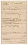 1889 July 27: Voucher, U.S. v. Robert Thomas, assault with intent to kill ; includes cost of per diem and mileage; Stephen Wheeler, commissioner; John Swain, deputy marshal; George Elkins, posse comitatus; W.H. Morris, guard