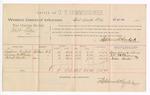 1889 February 22: Voucher, U.S. v. Milt Allen, larceny ; includes cost of per diem and mileage; Simpson Bishop, Surney W. McKinney, and Nelson Benton, witnesses; John Carroll, U.S. marshal; Stephen Wheeler, commissioner